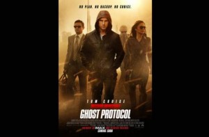 *  Image Credit: Supplied     * Mission: Impossible Ghost Protocol poster