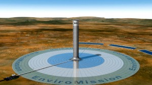 EnviroMission's solar tower concept