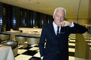 The Italian fashion designer Giorgio Armani is unperturbed by the turmoil in North Africa particularly Egypt. EPA