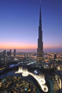 The Dubai Fountain at Downtown Dubai. (SUPPLIED)