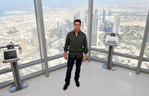 "Actor Tom Cruise attends a photocall ahead of the ""Mission: Impossible - Ghost Protocol"" Press Conference during the 8th Annual Dubai International Film Festival held on the 124th floor of the Burj Khalifa on December 7, 2011 in Dubai, United Arab Emirates. (REUTERS)"