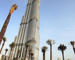 Burj Khalifa, the world s tallest tower in Dubai which stands at 828 metres. Photo: Reuters