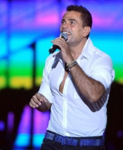 Amr Diab will perform as part of the du World Music Festival
