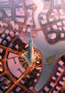 Kingdom Tower in Jeddah