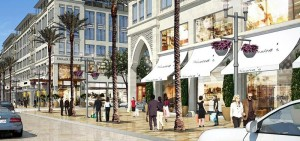 Artist's impression of Emaar Square in Cairo