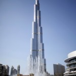 The World's Tallest Building Burj Khalifa Sways and Creaks in a Storm