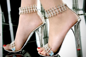 The £200,000 Princess Constellation stilettos by Chris Shellis